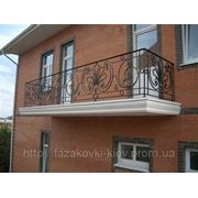 Балкон кованый БК-0017 фото