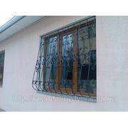 Заказать кованые решетки на окна в Алматы фото