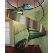 Лестницы из стекла фото