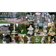 Фонтаны цветочные вазы скульптуры фото