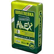 Шпатлевка полимерная AlinEX Финиш П (25 кг) фото