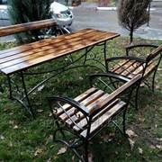 Изготовление садовой мебели фото