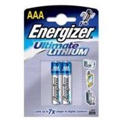 Батарейка Energizer Ultimate Lithium LR03 L92 DFB2 2шт. /12/ фото