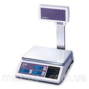 Электронные торговые весы 15 кг CAS ER-Plus EU фото