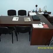 Офисная мебель (для руководителя, персонала, в переговорную на ресепшн) фото