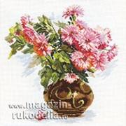 Набор для вышивания Цветущий сад. Хризантемки фото