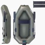 Надувная гребная лодка ПВХ STORM со сланью и транцем St220 Dt фото