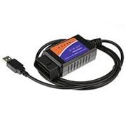 OBD2 ELM327 USB диагностический адаптер фото