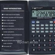 Калькулятор, научный, 8+2 разрядов, SILWERHOF SCIENTIFIC SSS-032, 56 функций, корпус-книжка, пластик 601025-01 фото
