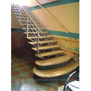 Лестницы двухкасаурные фото