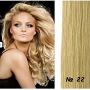 Натуральные волосы на заколках цвет пепельный блондин фото