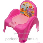 Горшок-кресло Tega веселка sf-10 сафари розовый фото