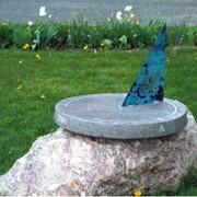 Солнечные часы (по крайней Araisu мельницы) фотография