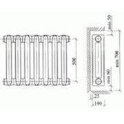 Чугунные радиаторы отопления мс-140 фото