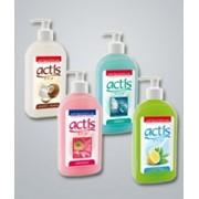 Жидкое мыло Молоко и кокос, 0.5 л. - ACTIS, Мыло жидкое фото