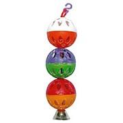Redplastic Игрушка Шарики с колокольчиком для попугая фото