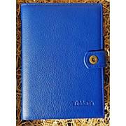 Ежедневник из натуральной кожи Классика, светло-синий фото