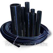 Водопроводные полиэтиленовые трубы O 16-450 мм фото
