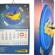 Календарь с объемным элементом фото