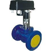 Регулирующий клапан седельный с электроприводом фото