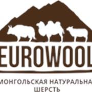 Палантин 100% овечья шерсть, размер 70*200 см, цвет серо-коричневый фото