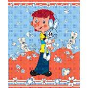 Плед флисовый детский ассортимент союзмультфильм размер 130 см на 160см фото