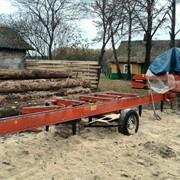Распиловка древесины.мобильная пилорама woodmizer фото