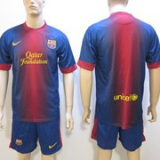 Клубная футбольная форма Barcelona 2012-2013 фото