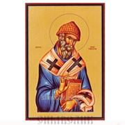 Икона свт. Спиридон Тримифунтский Артикул: 001027ид9001 фото