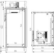 Шкаф холодильный - CB114-G фото