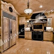 Кухни дорогие из массива 48 фото