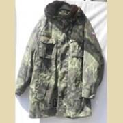 Куртка CZ, арт.95, вставка, очень теплая, капюшон фото