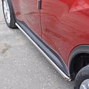 Защита порогов Nissan Juke 2011 – наст. время (вариант 1 42 мм) фото