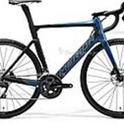 Велосипед Merida Reacto Disc 4000 (2020) Синий 21 ростовка фото