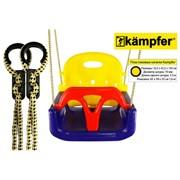 Детские пластиковые качели 3в1 Kampfer фото