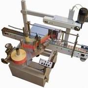 Автомат для нанесения самоклеющихся этикеток на плоскую и овальную тару СК-010 П фото