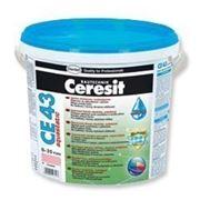 Затирка для швов эластичная водостойкая, до 20 мм Ceresit СЕ43, 2 кг (серый) фото