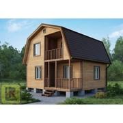Дом каркасно-щитовой Проект №27 (6х6) фото