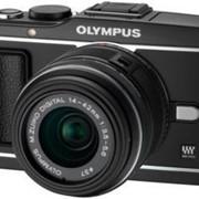 Фотоаппарат Olympus E-P3 1442Kit black фото
