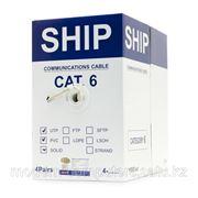 Кабель сетевой, SHIP, D165-P, Cat.6, UTP, 4x2x1/0.574мм, PVC, 305 м/б фото
