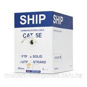 Кабель сетевой, SHIP, D135-2, Cat.5, UTP, 2x2x1/0.51мм, PVC, 305 м/б фото