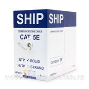 Кабель сетевой, SHIP, D135-P, Cat.5e, UTP, 4x2x1/0.51мм, PVC, 305 м/б фото