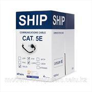 Кабель сетевой, SHIP, D146-P, Cat.5e, FTP, 4x2x1/0.51мм, РЕ, 305 м/б, (Для внешней прокладки) фото