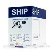Кабель сетевой, SHIP, D106, Cat.5e, UTP, 4x2x1/0.51мм, PE, 305 м/б (Влагостойкий, Для наружных работ) фото