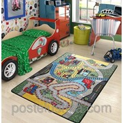 Коврик в детскую комнату Confetti Race 100*150 фото