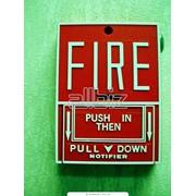 Установка систем пожарной и охранной сигнализации. фото