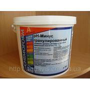 Химия для бассейна рН-минус фото