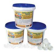 Хлорные таблетки для бассейна Crystal Pool Quick Chlorine Tablets 1 кг Харьков фото