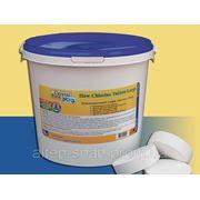 Хлорные таблетки для бассейна Crystal Pool Slow Chlorine Tablets Large 5 кг Харьков фото