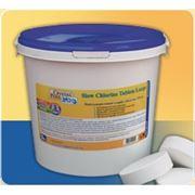 Химия для бассейнов Crystal Pool Slow Chlorine Tablets Large 5кг (таблетка 200 гр) фото